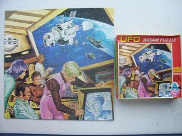 Gerry Anderson's UFO Vintage 320 Piece Jigsaw 1970s